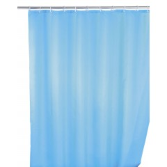 Anti-Schimmel Duschvorhang Uni Light Blue, 180 x 200 cm, waschbar