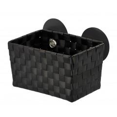 Wenko Static-Loc® Aufbewahrungskorb Fermo Black, Befestigen ohne bohren