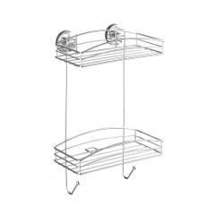 Wenko Vacuum-Loc Wandregal 2 Etagen, Befestigen ohne bohren