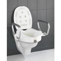 Wenko WC-Sitz Erhöhung mit Stützgriffen Secura
