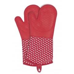 Wenko Topfhandschuhe Silikon Rot, 1 Paar