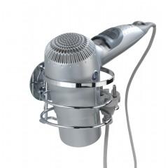 Wenko Turbo-Loc® Edelstahl Haartrocknerhalter, rostfrei, Befestigen ohne bohren