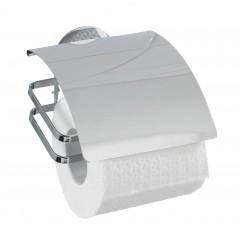 Wenko Turbo-Loc® Edelstahl Toilettenpapierhalter Cover, rostfrei, Befestigen ohne bohren