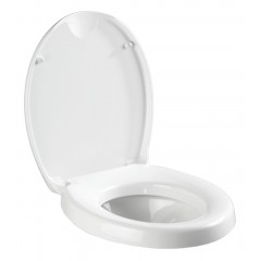 WC-Sitz Secura Comfort, mit Sitzflächenerhöhung