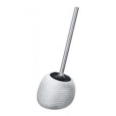 Wenko WC-Garnitur Polaris Juwel Silber, Keramik