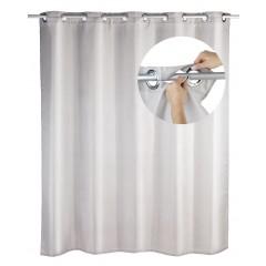 Duschvorhang Comfort Flex Taupe, 180 x 200 cm, waschbar