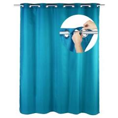 Duschvorhang Comfort Flex Petrol, 180 x 200 cm, waschbar