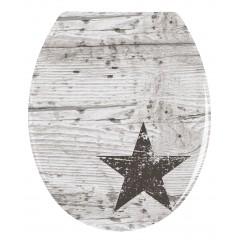 WC-Sitz Star, Duroplast