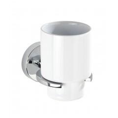 Wenko Vacuum-Loc® Zahnputzbecher Capri, Befestigen ohne bohren