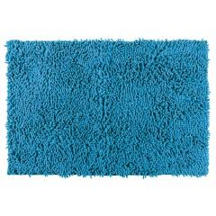 Wenko Badteppich Chenille Ocean Blue, 50 x 80 cm