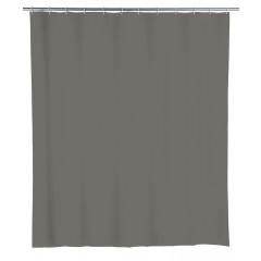 Wenko Duschvorhang Mouse Grey, 180 x 200 cm