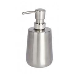 Wenko Seifenspender Solid, Edelstahl rostfrei, 420 ml
