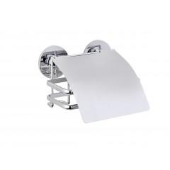 Express-Loc® Toilettenpapierhalter mit Deckel Cali, Edelstahl, Befestigen ohne bohren
