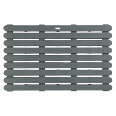 Wenko Badematte Indoor & Outdoor Grau, 50 x 80 cm