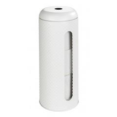 Wenko Toilettenpapier-Ersatzrollenhalter Punto Weiß