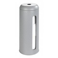 Wenko Toilettenpapier-Ersatzrollenhalter Punto Grau
