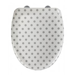 Wenko Premium WC-Sitz Punto, Duroplast, Absenkautomatik