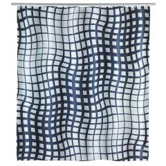 Wenko Anti-Schimmel Duschvorhang Studio, Polyester, 180 x 200 cm, waschbar