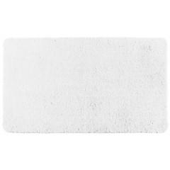 Wenko Badteppich Belize Weiß, 55 x 65 cm, Mikrofaser