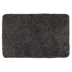 Badteppich Mélange Mouse Grey, 60 x 90 cm, Mikrofaser