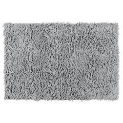Wenko Badematte Chenille Light Grey, 50 x 80 cm