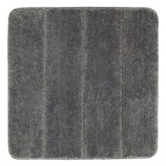 Wenko Badteppich Steps Mouse Grey, 55 x 65 cm, Mikrofaser