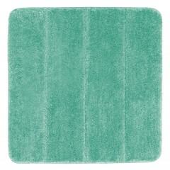 Wenko Badteppich Steps Turquoise, 55 x 65 cm, Mikrofaser