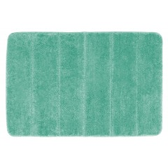 Wenko Badteppich Steps Turquoise, 60 x 90 cm, Mikrofaser