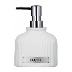 Wenko Seifenspender Bath, Keramik, 220 ml