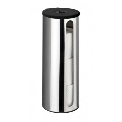 Wenko Turbo-Loc® Edelstahl Ersatzrollenhalter Detroit, rostfrei, Befestigen ohne bohren