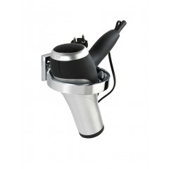 Wenko Power-Loc® Haartrocknerhalter Laceno, Edelstahl, Befestigen ohne bohren