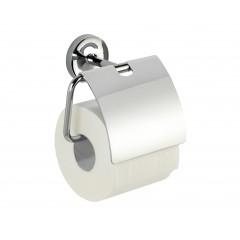 Wenko Power-Loc® Toilettenpapierhalter mit Deckel Arcole, Edelstahl, Befestigen ohne bohren
