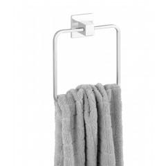 Wenko Express-Loc® Handtuchring Formia, Edelstahl, Befestigen ohne bohren
