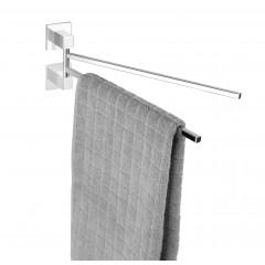 Express-Loc® Handtuchhalter Formia mit 2 beweglichen Armen, Edelstahl, Befestigen ohne bohren