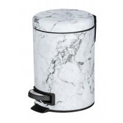 Wenko Kosmetik Treteimer Onyx, 3 Liter
