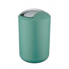 Wenko Schwingdeckeleimer / Kosmetikeimer Brasil L Grün 6,5 Liter