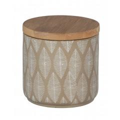 Wenko Universaldose Tupian Beige, hochwertige Keramik
