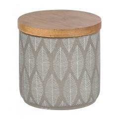 Wenko Universaldose Tupian Grau, hochwertige Keramik