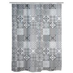 Wenko Duschvorhang Portugal, Polyester, 180 x 200 cm, waschbar