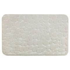 Wenko Badteppich Memory Foam Pebbles Beige, 50 x 80 cm