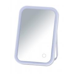 Wenko LED Kosmetik-Standspiegel Arizona, Leuchtspiegel