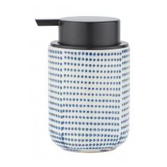 Wenko Seifenspender Nole, Flüssigseifen-Spender, Spülmittel-Spender, Keramik, 300 ml