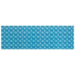 Wenko Badematte Flow Blau, 65 x 200 cm, Weichschaummatte