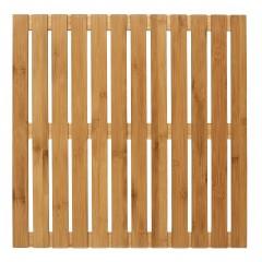 Wenko Baderost Indoor & Outdoor Bambus, 50 x 50 cm