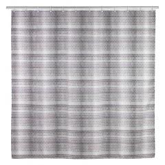 Wenko Anti-Schimmel Duschvorhang Leblon, Textil (Polyester), 180 x 200 cm, waschbar