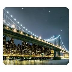Wenko Motivplatte Brooklyn Bridge, für Glaskeramik Kochfelder, Schneidbrett