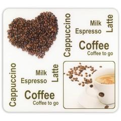 Multi-Platte Kaffeegenuss, für Glaskeramik Kochfelder, Schneidbrett