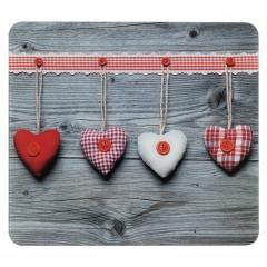 Multi-Platte Herzen, für Glaskeramik Kochfelder, Schneidbrett