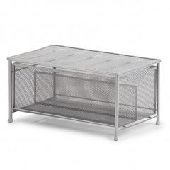 Zeller Universal-Organizer, Mesh, silber, Metall, 26 x 41 x 20 cm