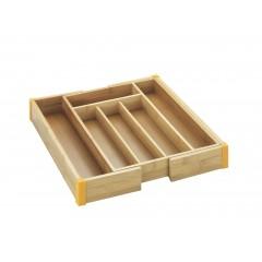 Besteckkasten Bambus, ausziehbar